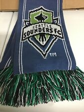 Seattle Sounders Scarf MLS Soccer - Special Olympics Seattle Schools Washington