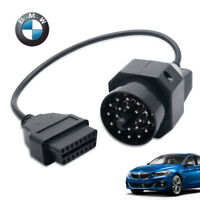 20 Pin To 16Pin OBD2 Female Auto Diagnostic Connector  Adapter Cable For BMW