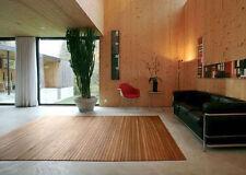 TAPPETO BAMBÙ, Tappeto Bambù, Stripes Nature, Tappeto salotto 60x120 cm