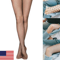 USA Lady Women Sexy Lingerie Fishnet Lace Mesh High Thigh Stockings Pantyhose