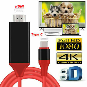 MHL USB-C Type C to HDMI 1080P HD TV Cable Adapter For Android Phones Samsung LG