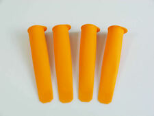 4 x Arancio in Silicone Push Up GELATO Lolly Pop Stampo ghiaccioli calipo Maker Mold