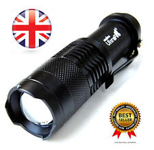 *NEW* Professional Tactical Ultra Bright Torch Zoom, Strobe, Camping Lamp
