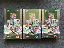 Lot of 3 Fleer '91 Ultra NFL Football Trading Card Factory Sealed Boxes