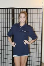 General Atomics Electronic Systems Polo Shirt - Blue - Medium*