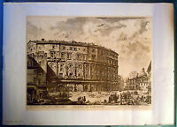 STAMPA GIOVANNI BATTISTA PIRANESI - TEATRO DI MARCELLO