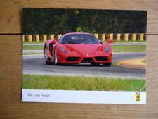 """Ferrari Enzo Foto de prensa """"Folleto"""" Jm"""