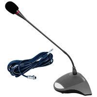 5 Core Wired Conference Desktop Microphone Metal Gooseneck Neodymium Mic