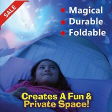 Innovative Dream Tents Kids Pop Up Bed Tent Playhouse Winter Wonderland pt