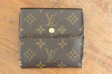 Vintage Louis Vuitton LV Monogram Trifold Snap Wallet  Authentic