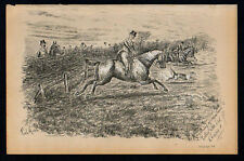 ANYTHING OF IMPORTANCE TOTHER SIDE OLD CHAPPIE? 1883 Finch Mason LITHOGRAPH