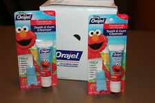 Baby Orajel Elmo Tooth & Gum Cleanser New Unopened Package