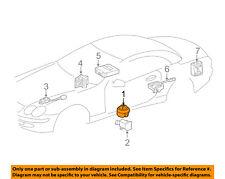 MERCEDES OEM 10-12 R350 Anti-Theft Alarm System-Horn 2198203226
