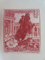 """1938 - Mi.Nr. 680 - 12 Pf - """"Ostmarklandschaften+Alpenblumen"""" - ungebr. m. Falzr"""