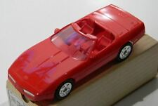 Amt Ertl Promo 1990 Chevrolet Corvette Convertible Bright Red 6044