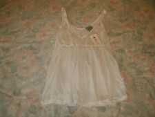 Claire & Cheyann ladies white tank top new with tags size small