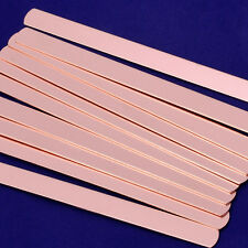 "About 6""*3/8""  Copper metal blank For Hand Stamping 5pcs 18 Gauges 10169050"