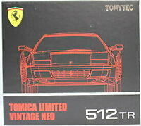 [ TOMICA LIMITED VINTAGE NEO 1/64 ] Ferrari 512TR (Red) from Japan 1722