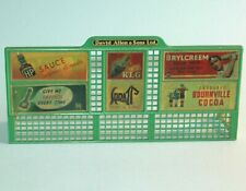 Meccano DINKY England 1959 David Allen ROAD HOARDING Advertising BILLBOARD #765