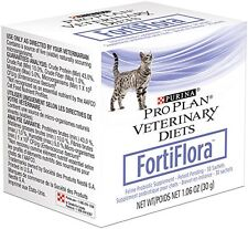 New listing FortiFlora Cat Nutritional Supplements 2 boxes/60 sachets