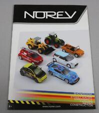 Zc3823 NOREV 1/32 1/43 catalogue vehicule Miniature Voiture 42 page 21x30cm