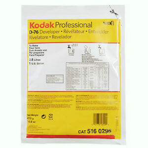 Kodak D76 415gm Powder developer to make 3.78 liter
