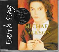 MICHAEL JACKSON - Earth song (STICKERED CASE!!) CDM 4TR EU Release 1995 (EPIC)
