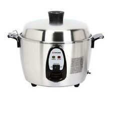 Tatung TAC-06KN 6-Cup Multi-Functional Indirect Heat Stainless Steel Rice Cooker