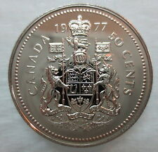 1977 CANADA 50 CENTS PROOF-LIKE COIN