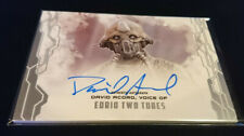 Star Wars Masterwork  David Acord Two Tubes  Autograph / Auto Card Signed