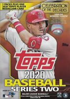 2020 Topps Series Two 2 MLB Baseball Trading Cards Blaster Relic Box Sealed
