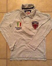 NWT VINGINO RUGBY BLUE LONG SLEEVE MILANO ITALY ITALIAN FLAG BOYS SHIRT 8 10 12