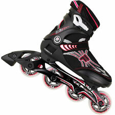 Rollers et patins rouge FILA