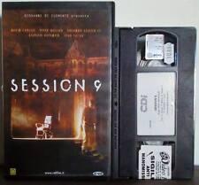 VHS FILM Ita Thriller SESSION 9 David Caruso Peter Mullan EX NOLO no dvd(VHS11)