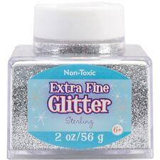 Advantus Extra Fine Glitter 2 Ounces Silver Sul2fgl-50861