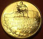 Gem Unc William H. Taft Presidential Bronze Inauguration Medallion~Free Shipping