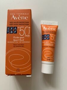New Avène 50 SPF Sport Fluid, Water Resistant sample