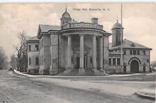 1909 Village Hall Engine & Hose Co #2 Bronxville NY post card Westchester county