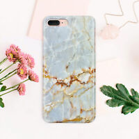Marble Phone Case iPhone 6s Full Wrap Cover iPhone 7 Plastic Skin iPhone 8 Plus