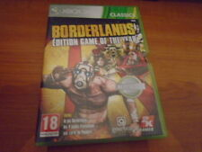 POUR XBOX 360 BORDERLANDS GAME of the YEAR