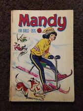 Mandy For Girls 1976 Annual