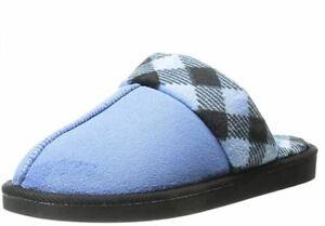 LW Women's Size 9-10 Vera Bradley Women's Cozy Slippers Light Blue Mules Shoes