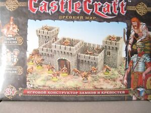 Castle Craft Ancient World Castle with small toy soldiers Technolog unopened box