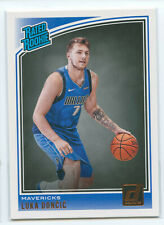 2018-19 Panini Donruss Luka Doncic Rc Rated Rookie