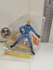 """Human Torch 3.75"""" Action Figure, - Marvel Legends : Fantastic Four *Very Nice!*"""