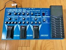 BOSS ME-50 GUITAR MULTI EFFECTS FLOOR PEDAL, GOOD CONDITION