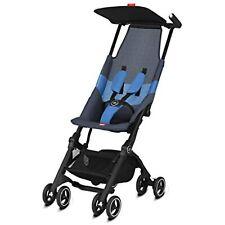 gb Pockit Air All Terrain Ultra Compact Lightweight Stroller in Night Blue