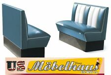 2HW120B American Diner Bench Seating Furniture 50´S USA Style Catering