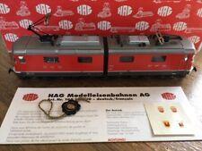 "HAG 198 SBB Re 6/6, 2-tlg.,rot, 11602 ""Morges"", selten,Originalkarton"