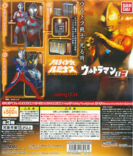 BANDAI Ultraman Luminous 3 Gashapon Figure set of 3 Jack Zero LED